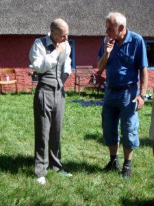 Lars Morell og Peter Augustinus Jorns Hus 2012